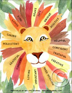 Self Esteem Activities, Self Esteem Kids, Self Esteem Crafts, Art Therapy Projects, Art Therapy Activities, Art Activities For Kids, School Art Projects, Brave, Bibel Journal