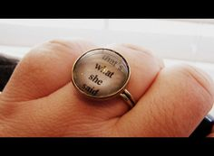 that's what she said ring by SuperFantasticJulie on Etsy, $16.00