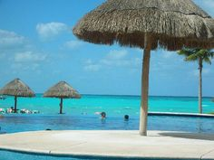 Cancun.  The prettiest water I have ever seen!