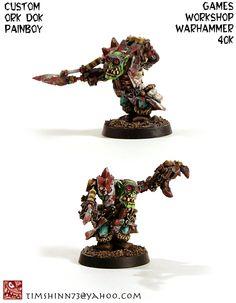 Warhammer 40k Ork Painboy Dok by timshinn73