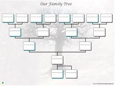 editable family tree templates