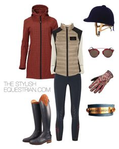 """""""Blustery day blues"""" by rachel-reunis on Polyvore featuring mode, Cavalleria Toscana, Christian Dior, women's clothing, women, female, woman, misses en juniors"""