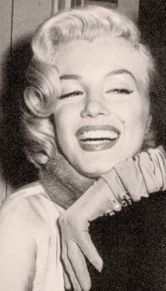 Marilyn on the set of How to Marry a Millionaire, 1953.