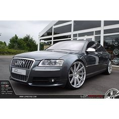 Audi S8 on CV4's - Beautifully captured