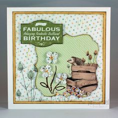Craftwork Cards Blog: Sheds, pop-up bouquet and gardening gifts - it's The Potting Shed Collection!