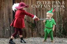 Merrick's Art // Style + Sewing for the Everyday Girl: HOMEMADE HALLOWEEN: PETER PAN AND CAPTAIN HOOK COSTUMES