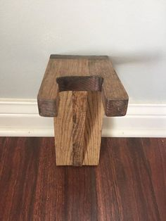 *Wooden wall mounted guitar stand/hanger can be stained any of these colors: http://www.minwax.com/wood-products/stains-color-guide/ *Stain shown in pictures is Golden Oak; if stain is not specified the item will be stained Golden Oak as shown. *Approx 9 length, 5.5 depth, 3.5 wide