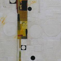 "Deborah T.Colter, ""Hidden Potential"". 30 x 30, Mixed Media   Eisenhauer Gallery of Edgartown, MA"