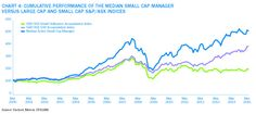 Performance of Small Cap Manager v's ASX Small Cap