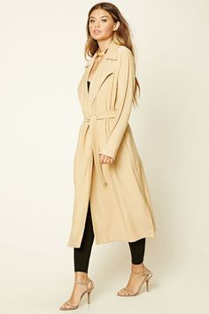 Sash-Tie Trench Jacket  87d0a263e67