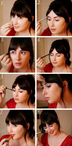 50's make up tutorial