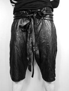Ekam AUTUMN/WINTER 2012 leather pants
