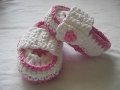 Crochet newborn loafers