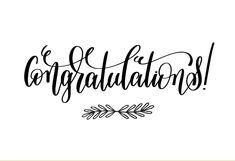 """Congratulations"" printable card. Customize, add text and photos. Print for free! #greetingcards #printable #diy #Congratulations"