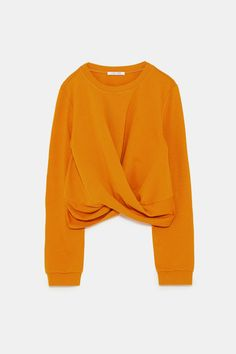 df2e9d86 Image 6 of RUCHED TOP from Zara Zara, Bell Sleeve Top, Fall Winter,