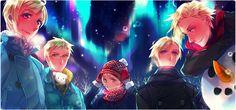 Nordics x Kitten!Reader Snow (Prologue) by PASTARagazza on DeviantArt