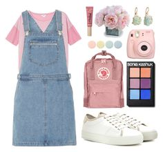 """""""you should go and love yourself!"""" by put-my-name-in-bold ❤ liked on Polyvore featuring Monki, Dorothy Perkins, Tod's, Fjällräven, Sonia Kashuk, Too Faced Cosmetics, New Growth Designs, Barneys New York, Deborah Lippmann and Pink"""