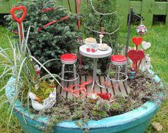 Miniature Fairy Garden DIY Kit Makes 3 Mini Fairy Gnome by Janit