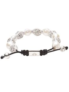 Nialaya Crystal and Silver Bracelet...awesome!
