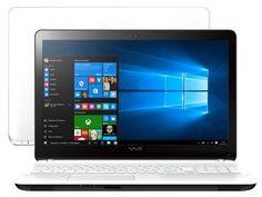 "Notebook Vaio Fit 15F Intel Core i7 - 8GB 1TB Windows 10 LCD 15.6"" HDMI Bluetooth"