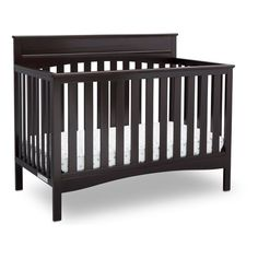 If you're looking to create a classic and charming nursery, the Skylar 4-in-1 Convertible Crib from Delta Children was made for you. The crib's clean lines and handsomely crafted headboard with crown molding provides a timeless look that will take your little one from baby to big kid. This baby crib is outfitted with a three-position mattress height adjustment that can be lowered to accommodate your growing child as they learn to stand. There for every milestone, the Skylar 4-in-1 Cri...