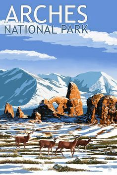 National Park Vintage Posters on Pinterest | 102 Pins