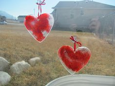 Stain Glass Hearts »