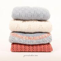 Sheep Happens! / DROPS 194-2 - Gratis strikkeoppskrifter fra DROPS Design Drops Patterns, Lace Patterns, Baby Knitting Patterns, Free Knitting, Clothing Patterns, Crochet Patterns, Drops Design, Crochet Diagram, Free Crochet