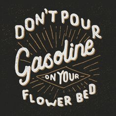Flower Bed by Nicolas Fredrickson, via Behance
