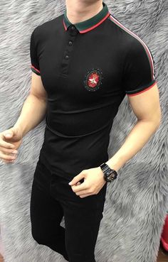 Camisa Polo, Gucci Gucci, Groom Style, Design Your Own, Fashion Accessories, Polo Shirt, Polo Ralph Lauren, Casual, Mens Tops