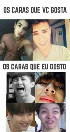 48 Ideas For Memes Bts Portugues 2019 Eu tenho um gosto peculiar. Bts Meme Faces, New Memes, Funny Memes, Jokes, Lol So True, Foto Bts, K Pop, Shop Bts, Memes In Real Life