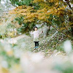 """Mana, @danisuru's niece for #hamadanny exhibition at Truck Furniture. #pentax67"""
