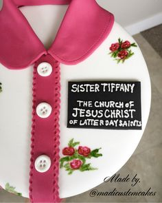 Sister Missionary Cake.