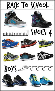 Back to school shoes for boys: Find the coolest styles at OurFamilyWorld.com