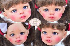 ::. 𝐂𝐮𝐬𝐭𝗼𝗺 𝐟𝐚𝐜𝐞-𝐮𝐩 .:: Paola Reina doll www.nomyens.com #dollofstargram #instadoll #dollstargram #toy #paint #painting #painted #repaint #handmade #nomyens #nomyensfaceup #paoladoll #paolareinadoll #paolareina Star G, Doll Head, Toy, Cosmetics, Dolls, Face, Handmade, Painting, Baby Dolls
