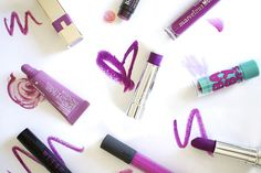Fun post from @the glossarie. over on #r29beautynation!!! // Yes, You CAN Wear Purple Lips — Here's How