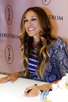 Sarah Jessica Parker [Photo by Bob Levey/Getty Images for Nordstrom]