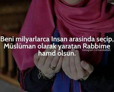 Elhamdülillah Müslümanım. #hamdolsun #şükürlerolsun :)