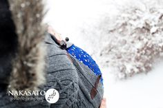 Winter Maternity (Nakasato Photography)