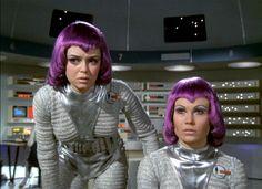 Gay Ellis and Joan Harrington, UFO