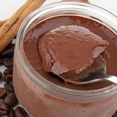Super simple and your family will love these.. Quick and Easy Chocolate Coffee Mousse Recipe from Grandmothers Kitchen.