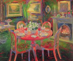 The Dining Room by William Ireland