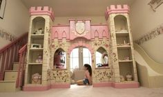 Ultimate little girls bed :)