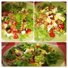Homemade Cesar salad!   LUUUX