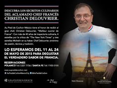 #Agenda Festival francés en Au Pied de Cochon con el chef Christian Delouvrier