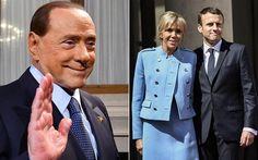 Silvio Berlusconi says Emmanuel Macron is 'a nice lad - with a good looking mum'.(May 16th 2017)