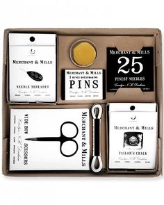 Little touches like this basic sewing kit are great ways to bring the B-and-B experience to your guestroom, ensuring visitors, friends & family recognize you as the host with the most!