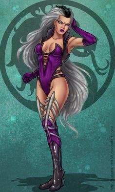 Queen Sindel - Mortal Kombat - Salamandra88.deviantart.com