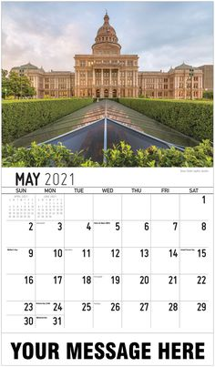2021 Texas Scenic Wall Calendars low as Imprinted for Business Advertising. Promote your business name, logo and ad message all year! Date Squares, Calendar App, Us Holidays, Free Advertising, Historical Sites, North America, Digital Marketing, Texas, Image
