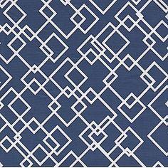 Gridlock Navy fabric by Dear Stella Fabrics